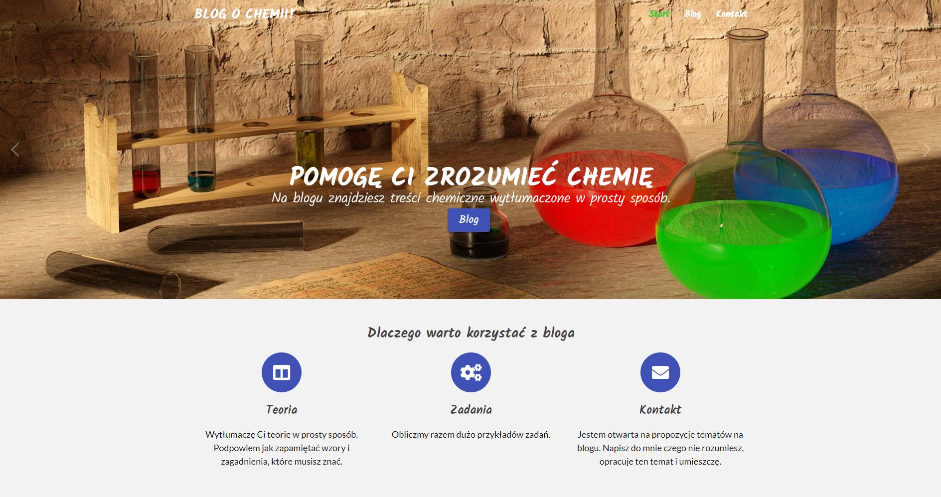blog o chemii